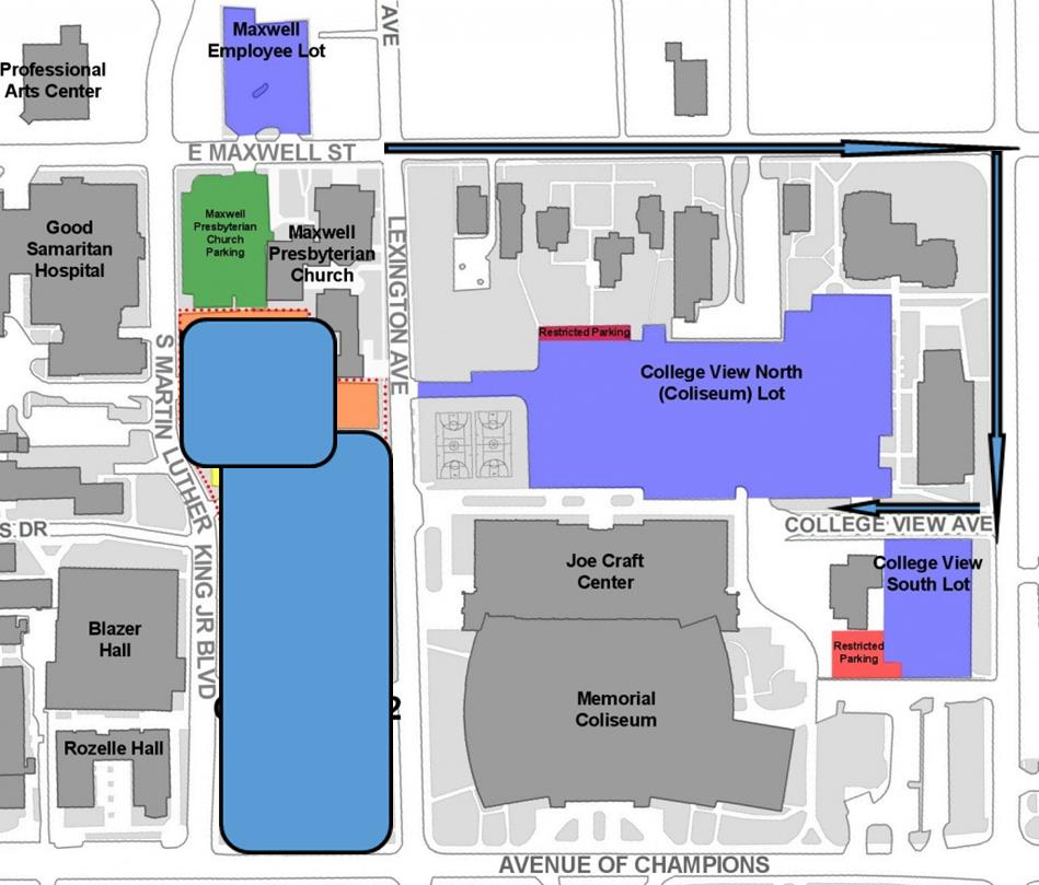 Parking map update (Oct 14 2013)