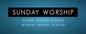 Sunday Worship General